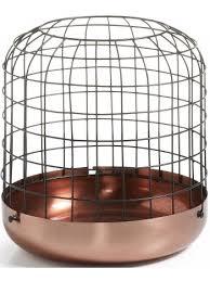 ospiti la gabbia incantevole portacandele una favolosa gabbia in metallo color