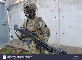 almost every soldier is now equipped with night vision kit here