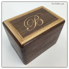 box personalized design a wooden recipe box personalized with images text