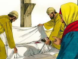 free bible images jesus is crucified and buried in a tomb