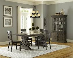 Transitional Chandeliers For Dining Room by Magnussen Home Bellamy Transitional Double Pedestal Dining Table