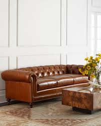 Two Cushion Sofa by Massoud Davidson Cushion Seat Chesterfield Sofas