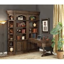 Antique Bookcase Desk Combo Desk Bookcase Combo Wayfair