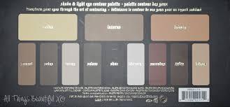 kat von d shade and light eye looks kat von d shade light eye contour palette swatches review eye look