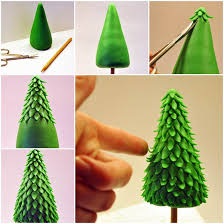 ideas diy fondant tree