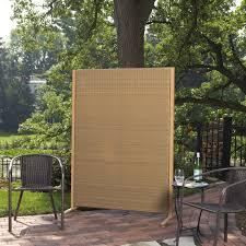 versare outdoor wicker resin room divider walmart com