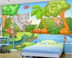 compare prices on jungle 3d wallpaper online shopping buy low beibehang papel de parede 3d wallpaper custom fashion decorative wallpaper jungle world vector kids room background