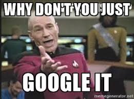 Google It Meme - some of my trouble shooting best practice sharing sap blogs