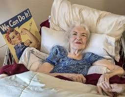 Rosie The Riveter Meme - put me like naomi parker aka rosie the riveter passed away january