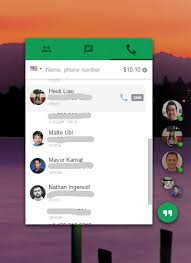 hangouts app android update dialer the new hangouts app for chrome now works with the