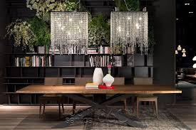 Dining Table Chandelier Venezia Contemporary Italian Crystal Chandelier By Cattelan Italia