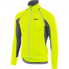 hi vis cycling jacket waterproof louis garneau spire convertible cycling jacket 2016 mens