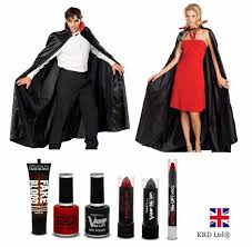 vampire dracula halloween party fancy dress cape costume