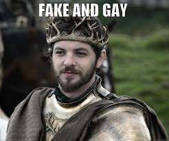 Stannis Baratheon Memes - renly baratheon is a false king and homosexual therefore you