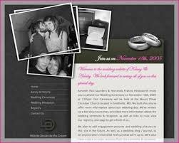 The Best Wedding Websites A Good Example Of A Wedding Website Tips And Advice About