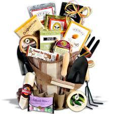 Gardening Basket Gift Ideas Deluxe Gourmet Garden Tote Gardening Gift Basket Gift Baskets