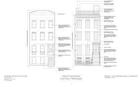 Brooklyn Brownstone Floor Plans by Residential Building At 36 Schermerhorn Street To Get Its Stoop