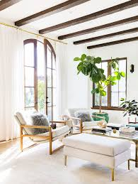 living room trees how to decorate with large indoor plants in every home mydomaine