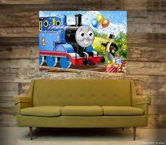 thomas the train wall art shenra com details about thomas the tank engine wall art one piece poster a1
