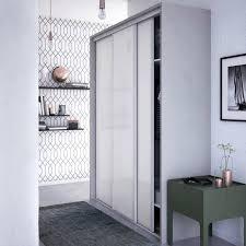 porte placard chambre porte de placard 100 x 250 porte placard coulissante vitree