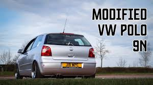 volkswagen polo modified modified volkswagen polo 9n youtube