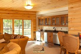 cabin log home warm home design