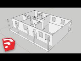 Home Design Using Sketchup Sketchup 8 Lessons Advanced House Building Youtube