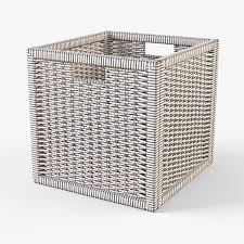 wicker rattan basket 07 natural 3d cgtrader