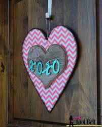 valentines door decorations valentines heart door decoration free pattern tool belt