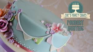 Decorating With Fondant Fondant Bunting How To Make Fondant Bunting And Flags To Decorate