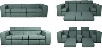 Combo Couch AllinOne Lounger Love Seat Sofa Bed - Lounger sofa designs