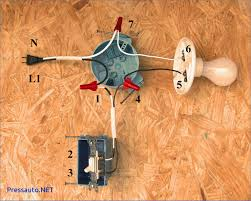 double pole light switch wiring diagram viewing gallery