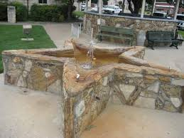 Petrified Wood Bench A To Z Texas P Is For Petrified Wood Buildings Tui Snider