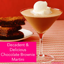 martini chocolate dessert cocktails chocolate brownie martini clinton kelly