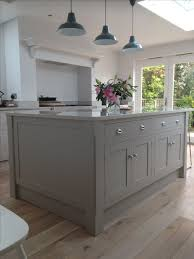 shaker kitchen island go attractive with your grey kitchens designinyou decor