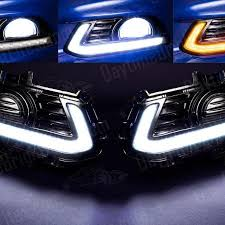 2010 ford taurus aftermarket tail lights drive bright ford taurus led drl kit silver accent with built