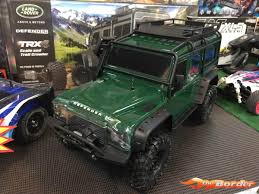 green land rover traxxas trx 4 land rover defender crawler green trx82056 4g