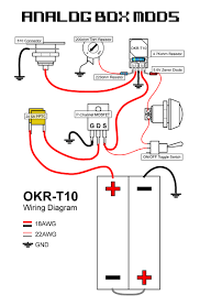 diy box mod kit okr t10 regulated 10a 50w canada