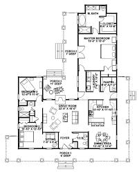simple farmhouse floor plans floor plan of traditional house plan 87975 picmia