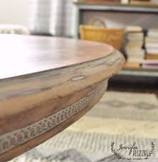 wax for wood table sanded wood coffee table with white wax jennifer rizzo