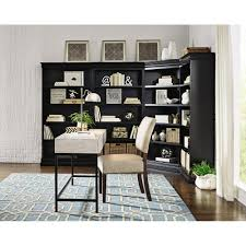 home decorators collection louis philippe modular black corner louis philippe modular black corner open bookcase