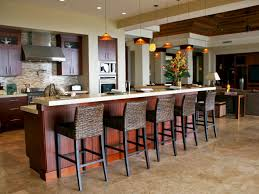 kitchen design island or peninsula design u2014 railing stairs and