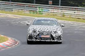 lexus rcf lowered lexus rc f coupe prototype racing on nürburgring lexus enthusiast