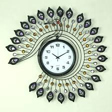 Clock Made Of Clocks Uttermost Wall Clock Vinyl Wall Clock Made Out Of A Real 12