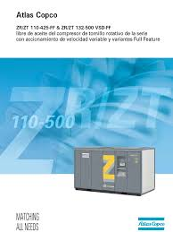 manual atlas copco zrzt110 315 gas compressor clothes dryer