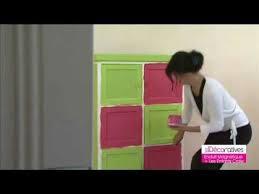 armoire chambre d enfant une armoire relookée pour la chambre d enfant peinture les