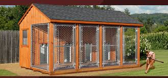 dog barn wooden amish dog house dog kennel in oneonta ny amish barn company