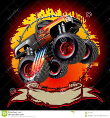 monster truck videos free download cartoon monster truck royalty free stock images image 34599109
