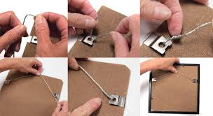 how to hang a picture frame how to get ikea ribba frames to behave utr déco blog