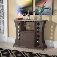 wine bar hutch wayfair